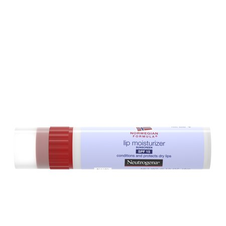 Neutrogena Norwegian Formula Lip Moisturizer With Sunscreen, Spf 15,.15 (Best Lip Moisturizer For Winter)