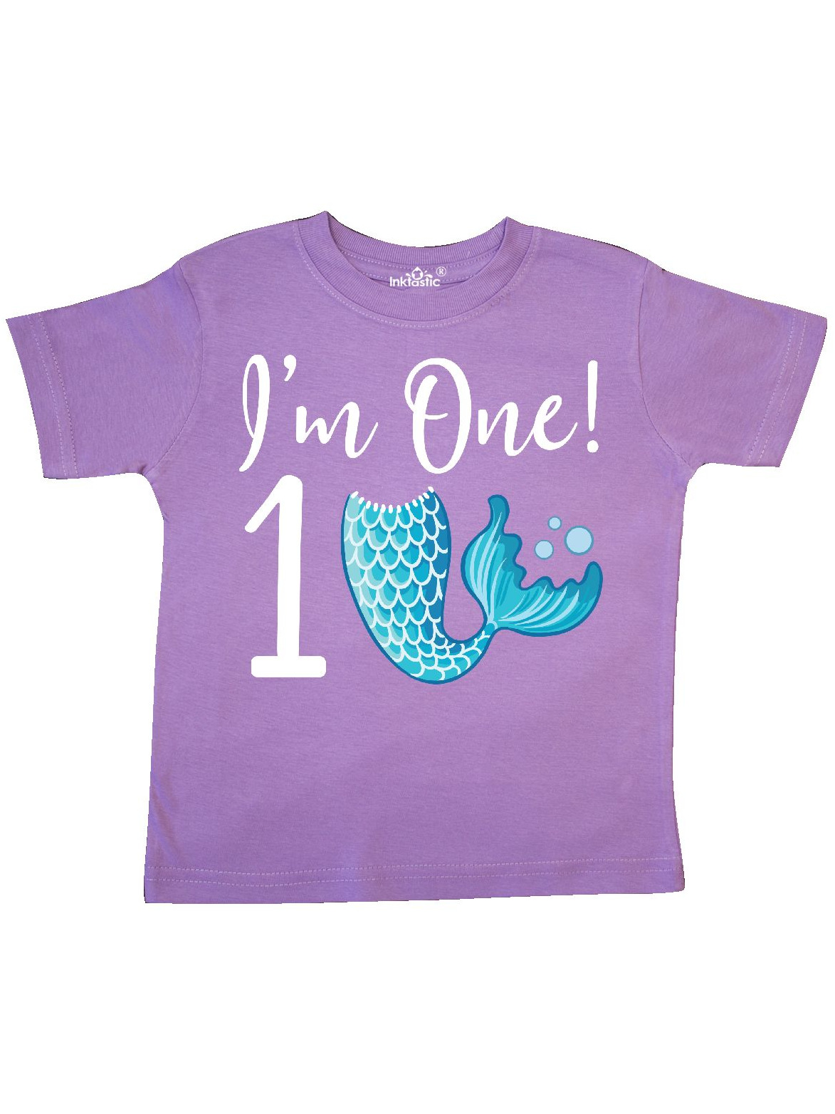 inktastic I Am 6 Years Old Birthday with Mermaid Toddler T-Shirt