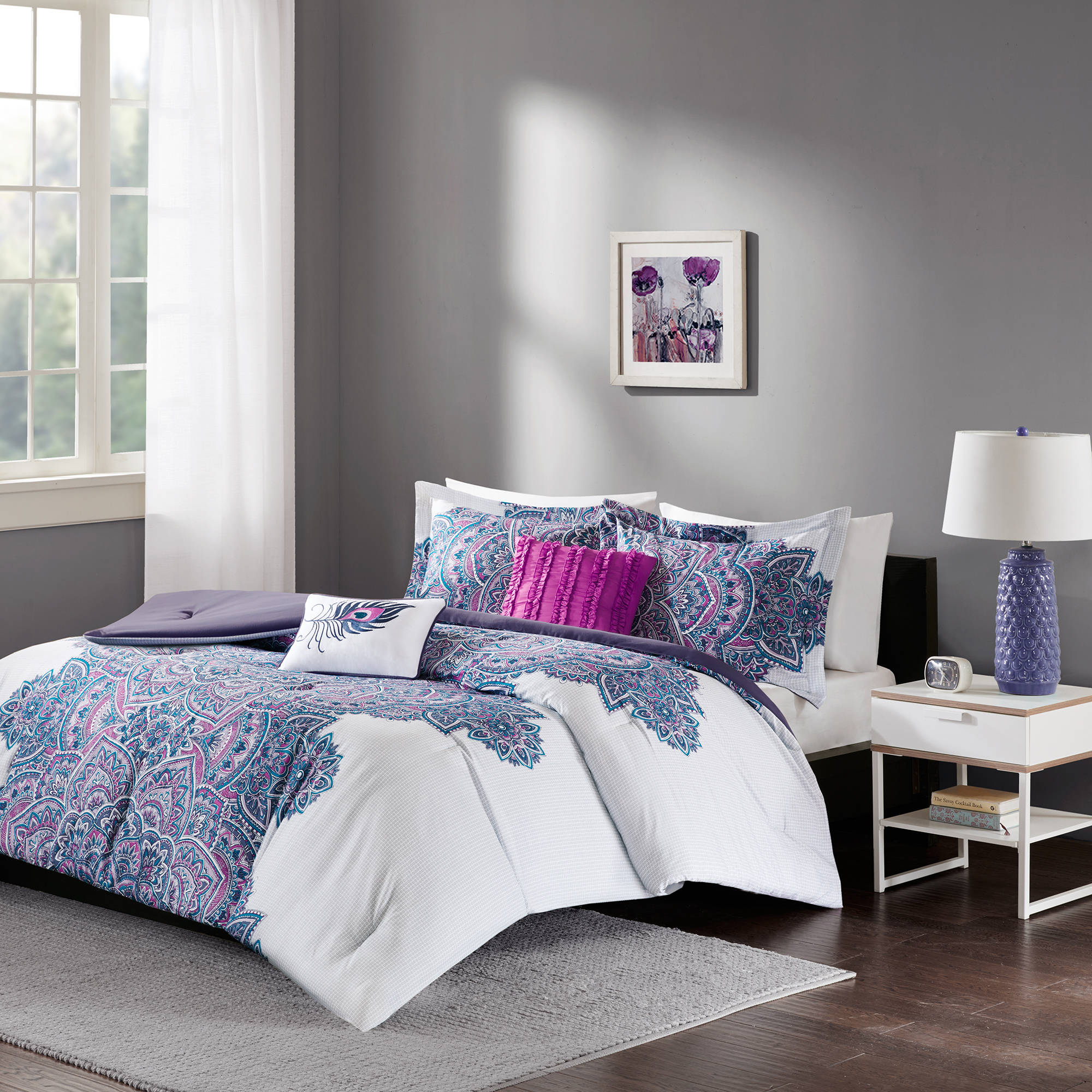 Home Essence Apartment Lolita Bedding Comforter Set