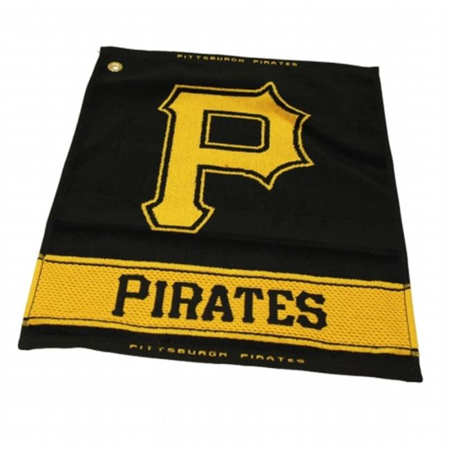 Team Golf 97180 Pittsburgh Pirates Woven Towel