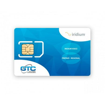 Iridium Satellite Phone Prepaid Sim Card With 200 Minutes 180 Days Includes Free Sim Card