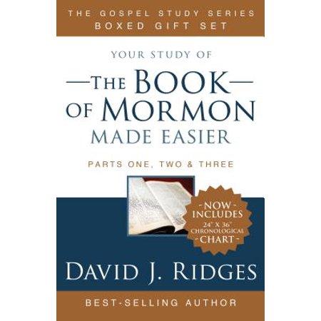 Book of Mormon Made Easier Box Set (with Chronological Map) - New York Regional Mormon Singles Halloween Dance