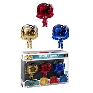 Funko Wonder Woman (Gauntlets) (Chrome 3-Pack) - image 1 de 1