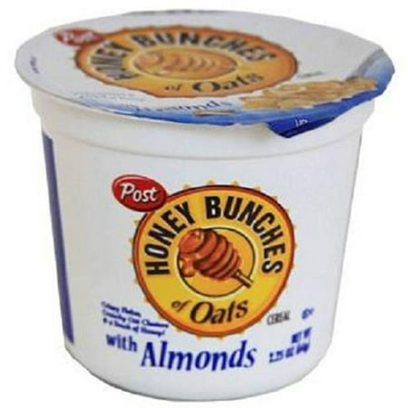 Product Of Post Honey Bunch Of Oats, Cereal In Cup Almond, Count 6 (2.25 oz) - Cereals / Grab Varieties &