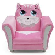 Delta Children Cozy Kitten Upholstered Kids Chair, Assorted