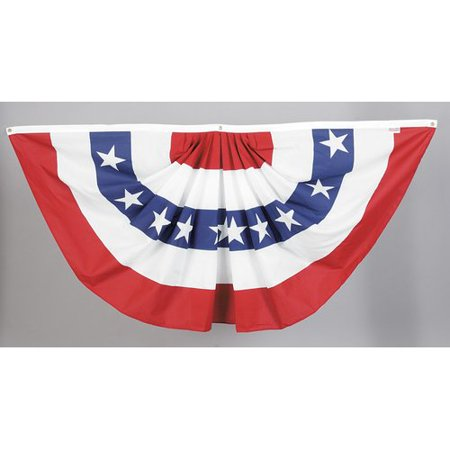 Valley Forge Flag American Pleated 2-Sided Polyester Blend 3 x 6 ft. Bunting](Buy Bunting Flags)