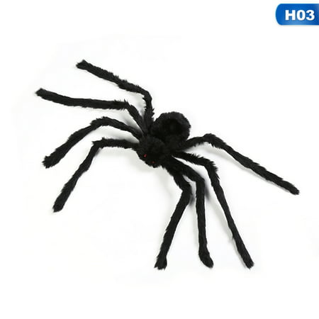 KABOER Max Halloween Hanging Decoration Giant Spider Decor House Haunted Outdoor Yard Halloween Decor
