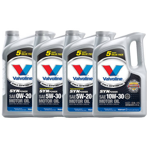 Buy 4 and Save, Valvoline SynPower Full Synthetic Motor Oil