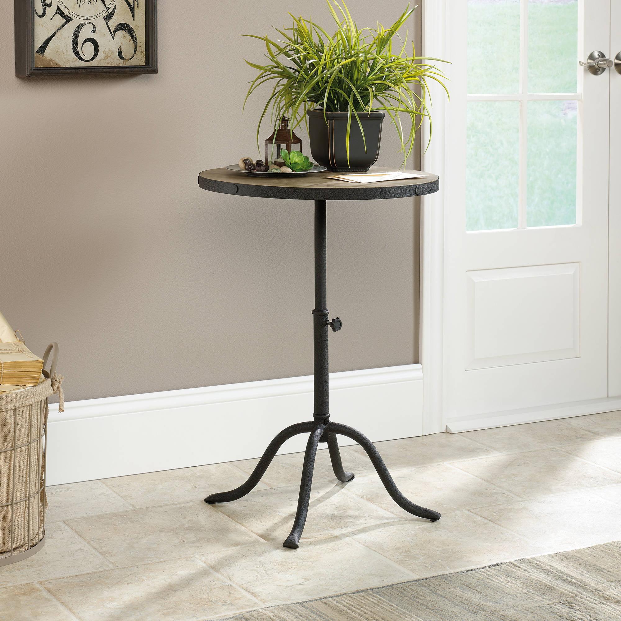 Sauder Inspired Accents Pedestal Table, Craftsman Oak