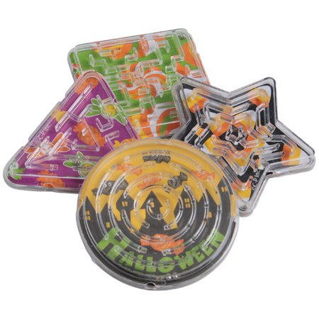 HALLOWEEN CANDY MAZE PUZZLES, SOLD BY 28 DOZENS