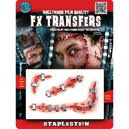 Halloween Professional 3D Tattoo, Staplestein](Maquillaje Profesional Halloween)