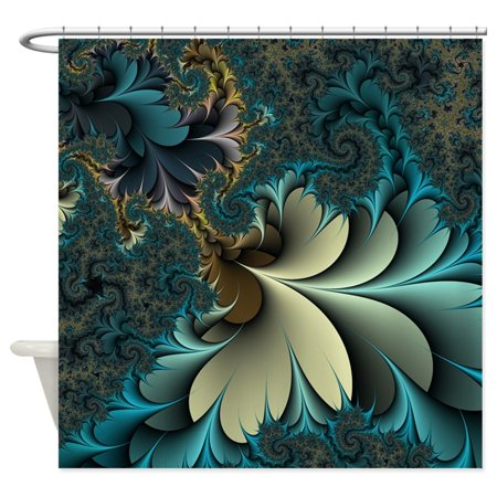 CafePress - Birds Of A Feather - Unique Cloth Shower Curtain ()