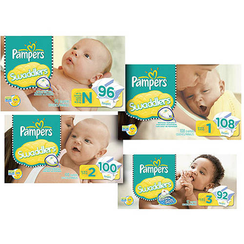 Pampers - Swaddlers Super Pack (Choose Your Size)