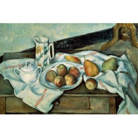 Posterazzi SAL261122 Peaches & Pears 1888-1889 Paul Cezanne 1839-1906 French Oil on Canvas Museum of Modern Western Art Moscow Poster Print - 18 x 24 in. - image 1 of 1