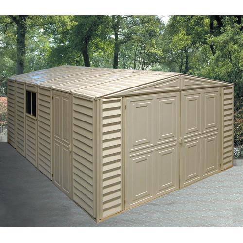 Duramax Building Products 10 ft. W x 23 ft. D Plastic Gar...