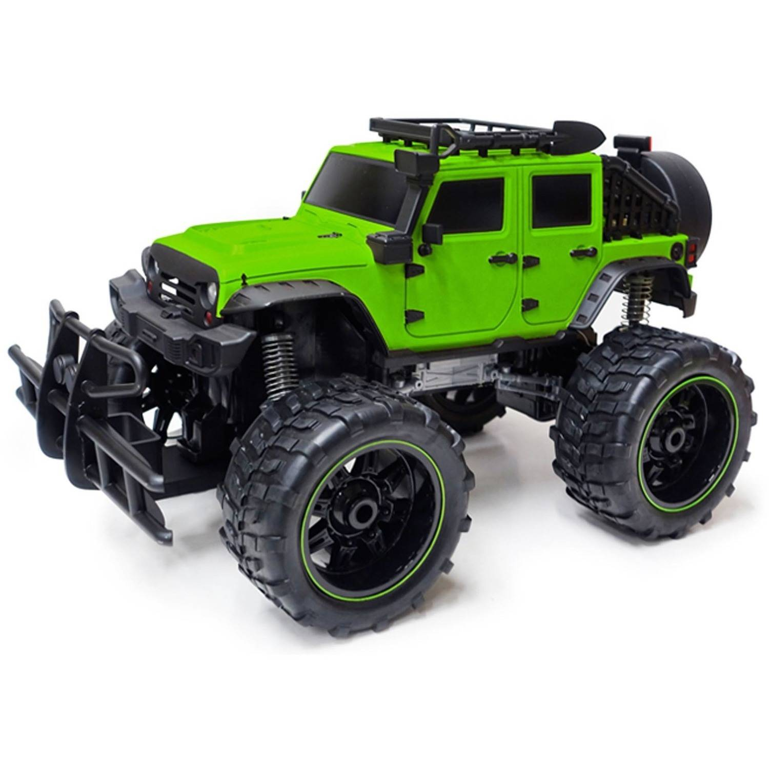 1:10 R/C Full-Function 9.6V Jeep, Green