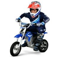Hyper HPR 350 Dirt Bike 24-volt Electric Motorcycle-Blue