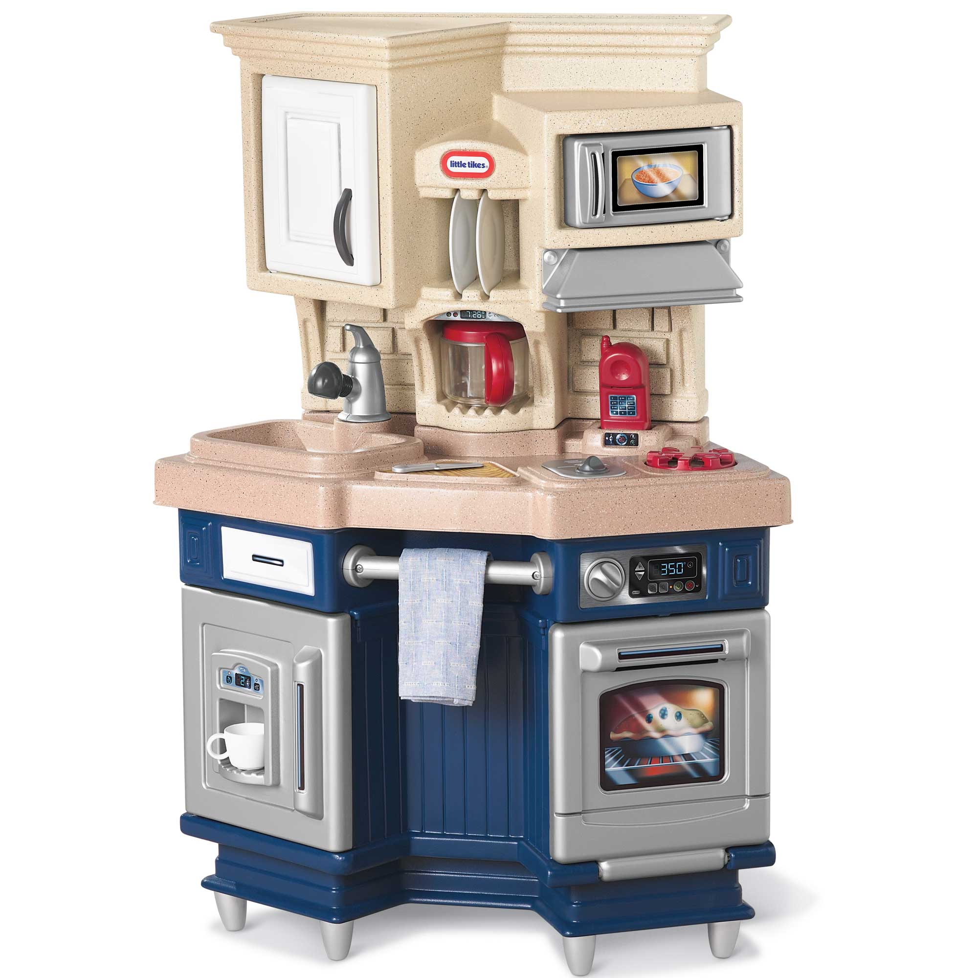 Little Tikes Super Chef Play Kitchen With 13 Piece