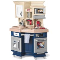 Little Tikes Super Chef Play Kitchen with 13 Piece Accessory Play Set