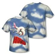 Airplane - Title - Short Sleeve Shirt - Large