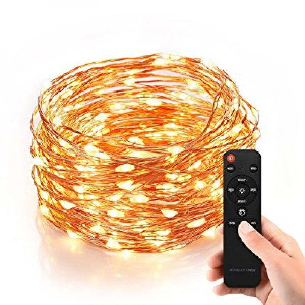 Homestarry HS-SL-010 Dimmable String Lights Pro, 240 LED'...
