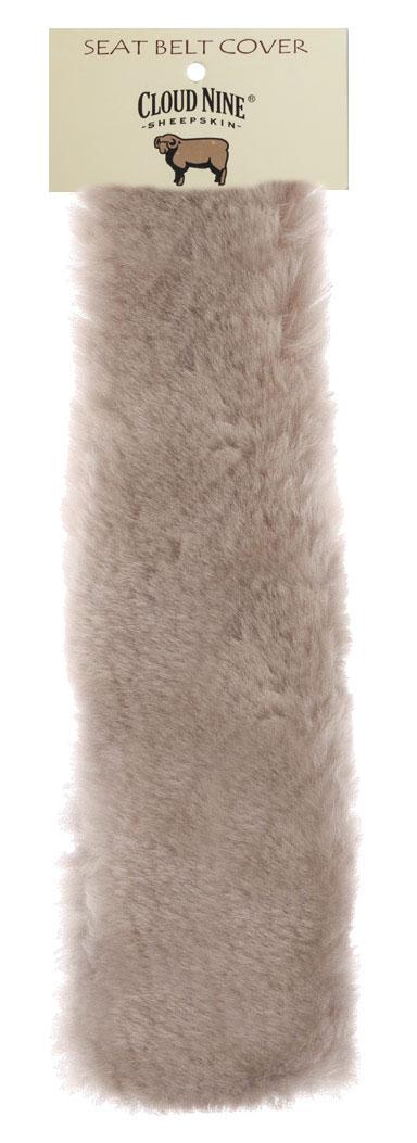 Cloud Nine Sheepskin Seatbelt Cover Cream