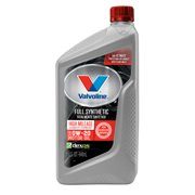 Valvoline Full Synthetic High Mileage with MaxLife Technology SAE 0W-20 Motor Oil, 1 Quart