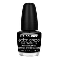 LA Colors Color Craze Nail Polish, Circuits, 0.44 Oz
