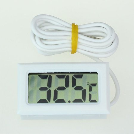 Mini LCD Digital Thermometer Fridge Freezer Thermometer for Fish Tank Aquarium