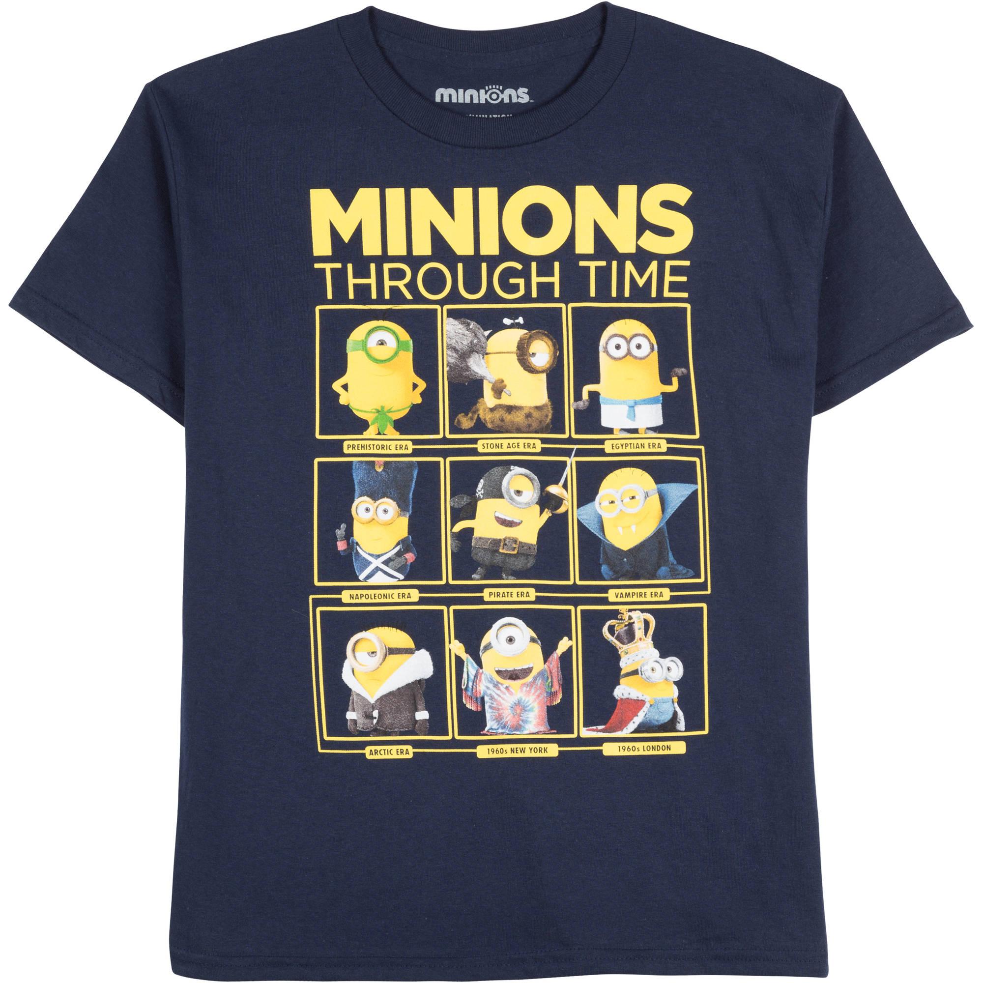 Minions Boys' Nine Lives Graphic Tee