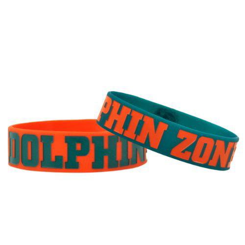 NFL - Miami Dolphins PHAT Bandz Bracelet 2-Pack