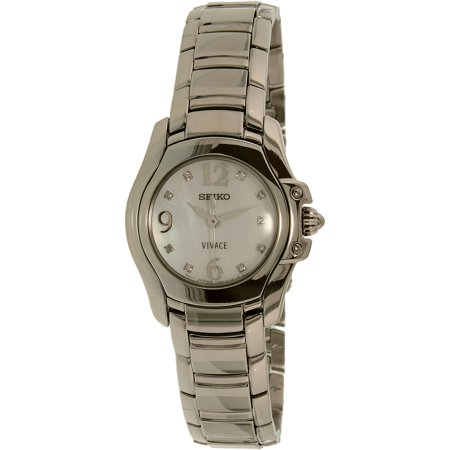 Seiko Women's SXD685 Silver Stainless-Steel Quartz Fashion Watch