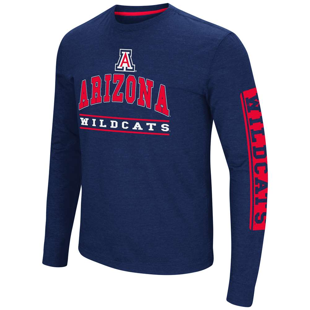 Arizona Wildcats Colosseum Sky Box L/S T-Shirt - Arch Print