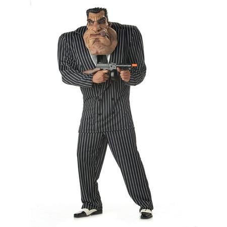 Massive Mobster Adult Costume - 1920 Mobster