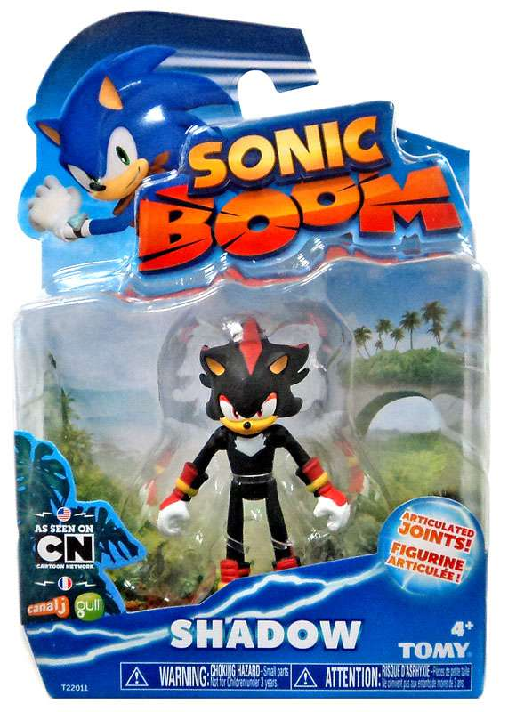 Sonic The Hedgehog Sonic Boom Shadow Action Figure Walmart Com Walmart Com