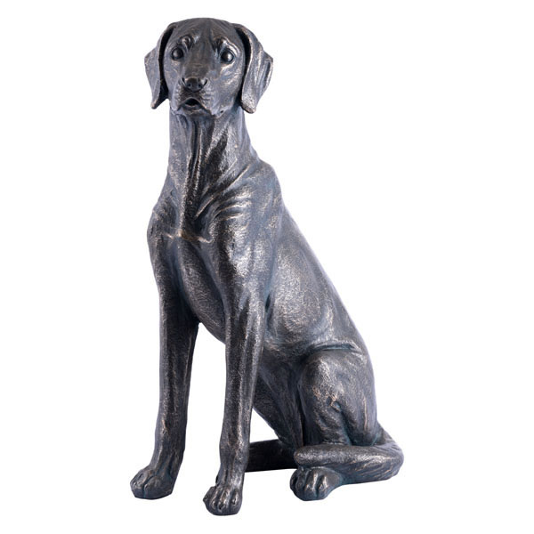 Dog Sitting Bronze