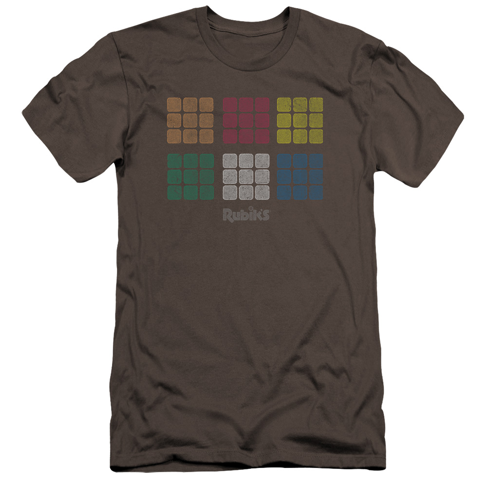 Rubik/'s Cube MINIMAL SQUARES Licensed  Youth T-Shirt S-XL