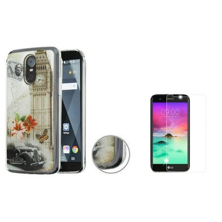 Insten Krystal Gel Case Hard Shell Cover For LG Stylo 3 / LG Stylo 3 Plus / LG G Stylo 3 - Big Ben (Bundle with Glass Screen (Big Screen Glasses)
