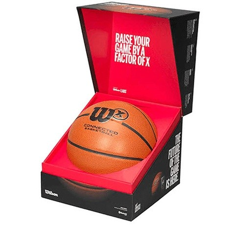Wilson X Connect Game Basketball by Wilson Sporting Goods