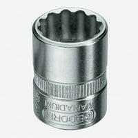 """Gedore D 20 4,5 Socket 1/4"""" 4.5 mm"""