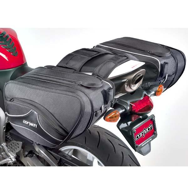 Cortech Super 2.0 Saddlebags Black