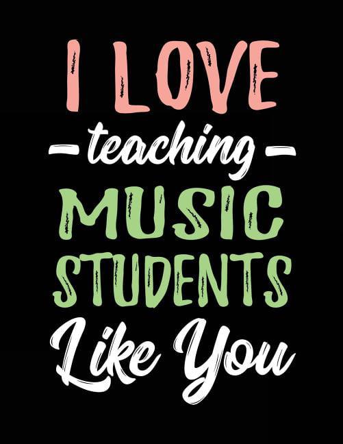 Musician Gifts Music Lover Music Teacher Gift Piano Teacher Gift Singer Songwriter Gift Idea Sheet Music Earrings Choir Teacher Gift