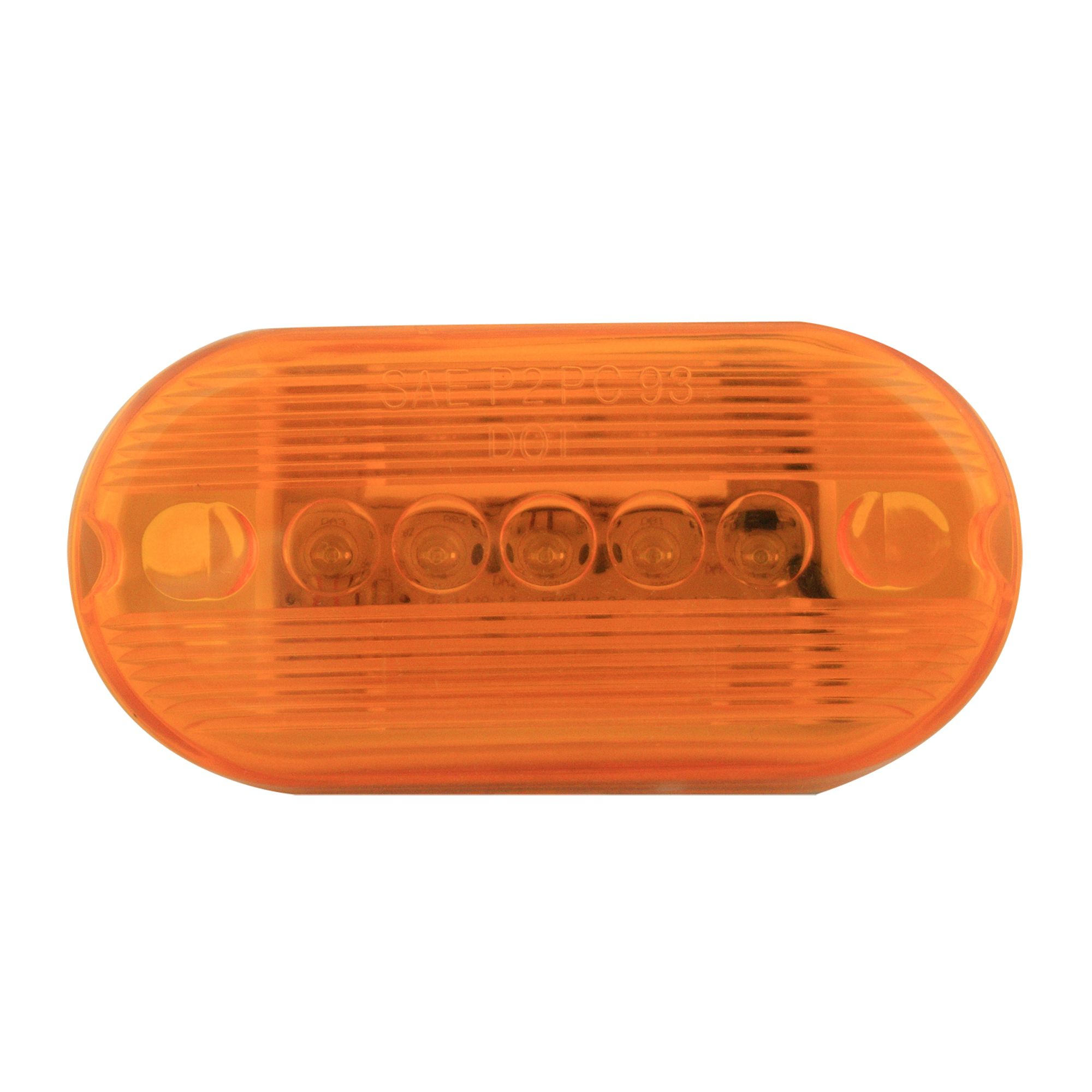 Pilot Automotive NV-5095A 12 Volt 4 inch Oblong Side Marker/Clearance Light-Amber Size: Size: 4 x 1-1/8 x 2