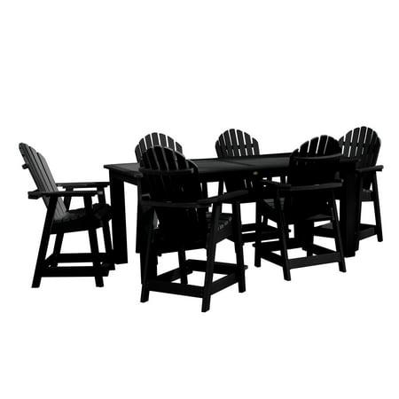 highwood® Hamilton 7pc Rectangular Counter Height Dining Set 84