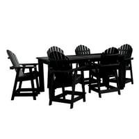 """highwood® Hamilton 7pc Rectangular Counter Height Dining Set 84"""" x 42"""""""