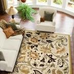 Devore SunwashedBeige 6 ft. 7 in. x 9 ft. 8 in. Area Rug