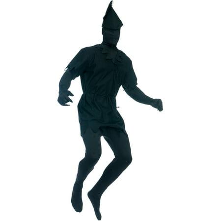 Adult's Mens Lost Boy Pan Black Shadow Man Costume - Men In Black Costume