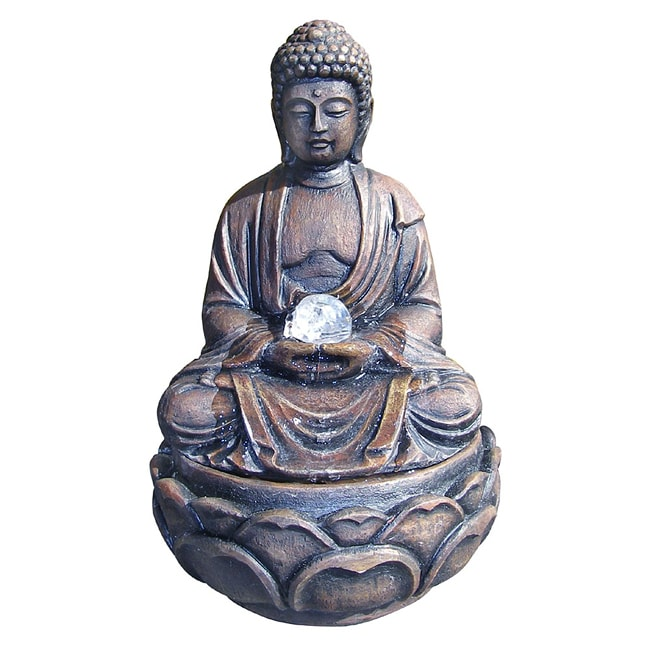 ORE International Buddha Indoor Fountain by Overstock