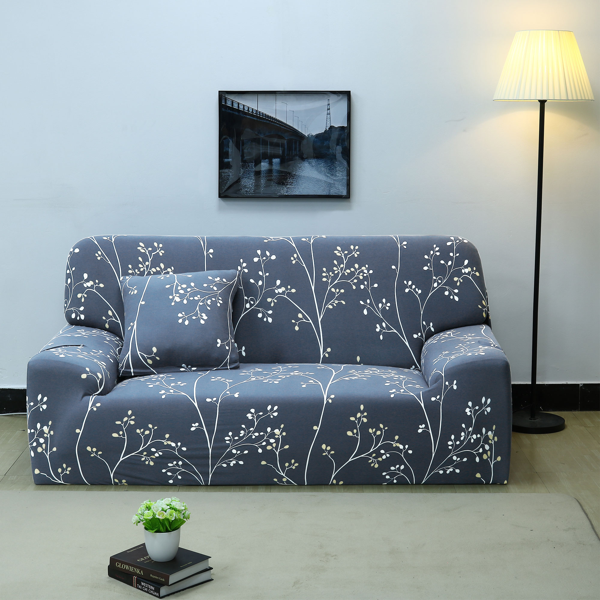 Home Loveseat Sofa Cover Strech Couch Protector Slipcover 3 57 X