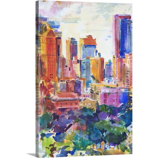 "241 Central Park West: ""Central Park West, 2011"" Canvas Wall"